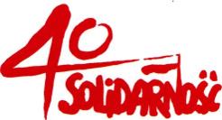 "40 lat NSZZ ""Solidarność"""